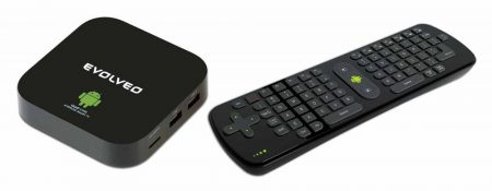Evolveo Smart TV Box Q4 + FlyMotion Airmouse