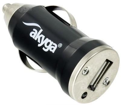 Akyga USB-s szivargyújtó adapter mini (1A)