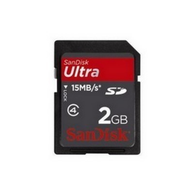 SanDisk 2GB Ultra SD memkártya