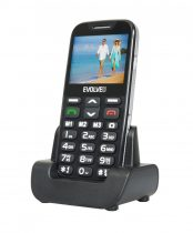 Evolveo EasyPhone XD EP-600 senior mobiltelefon fekete