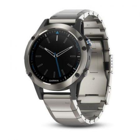 Garmin Quatix 5 Sapphire (acél szíjjal)