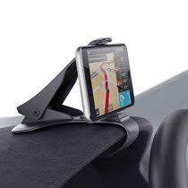 Univerzális autós telefon / GPS tartó csipeszes műszerfalra rögzíthető