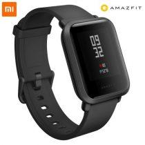Xiaomi Amazfit Bip GPS-es fitness okosóra (UYG4021RT) fekete