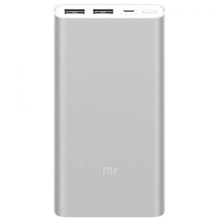 Xiaomi Mi Power Bank 2S 10000mAh QuickCharge 2.0 Ezüst