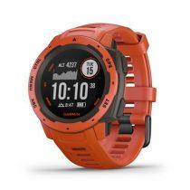 Garmin Instinct Flame Red GPS-es sport- és okosóra