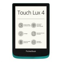 PocketBook Touch Lux 4 E-book olvasó smaragdzöld