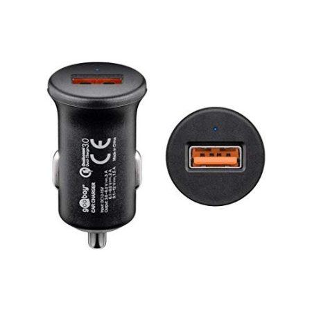 Goobay USB-s szivargyújtó adapter QC3.0 (2,4A)