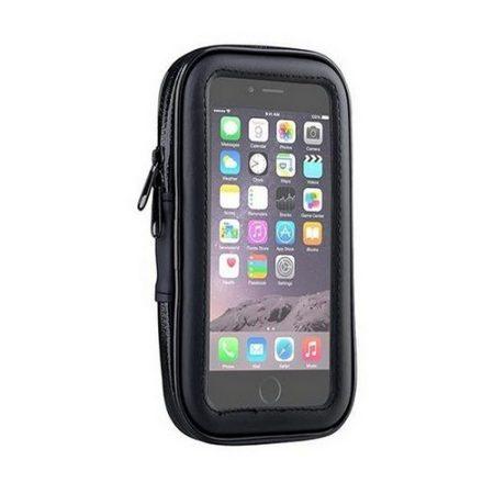 """Univerzális kerékpáros telefon tartó 5,6"""" méretig FS-L+BK"""