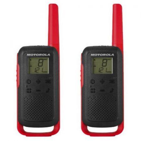 Motorola TLKR T62 Dual-Pack PMR rádió piros