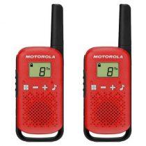 Motorola TLKR T42 Dual-Pack PMR rádió piros