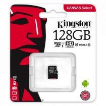 Kingston 128GB MicroSDXC CL10 memóriakártya