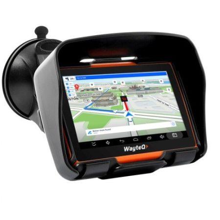 Wayteq xRIDER Smart Android Sygic GPS Europe Élettartam frissítés