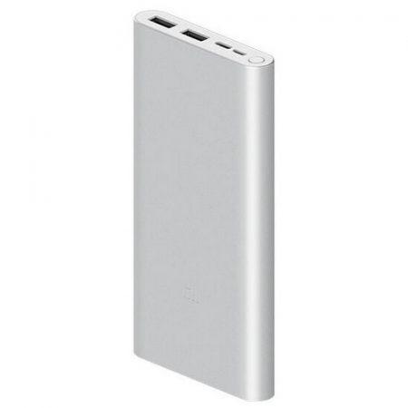 Xiaomi Mi Power Bank 3 18W Fast Charge 10000mAh silver