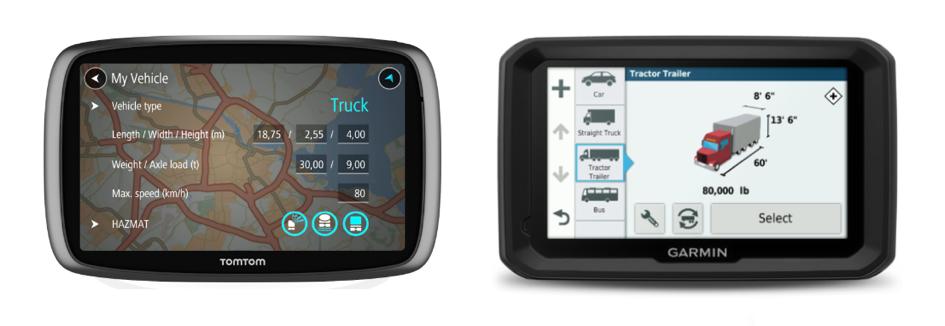Kamionos GPS eszköz