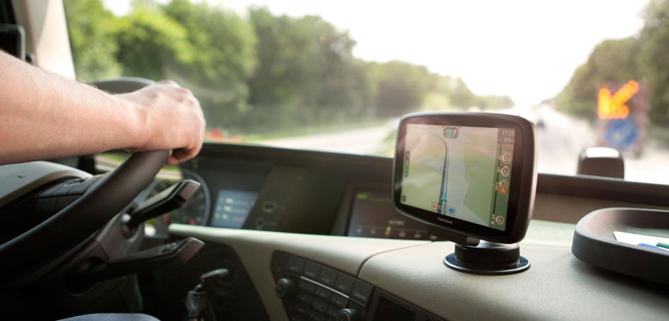 Pontos navigáció a kamionos GPS segítségével