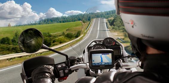 Motoros GPS navigáció