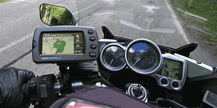 2006 - Garmin StreetPilot 2820 (még nem érintőkijelzős motoros GPS)