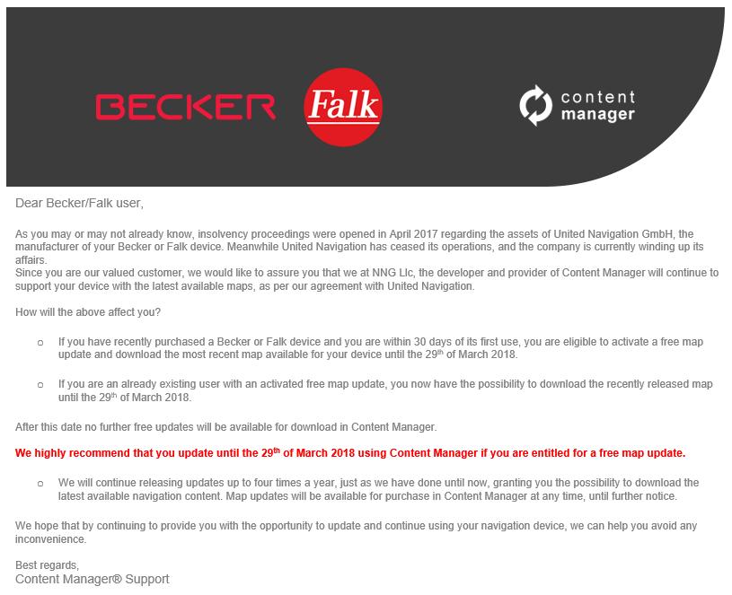 Becker értesítés