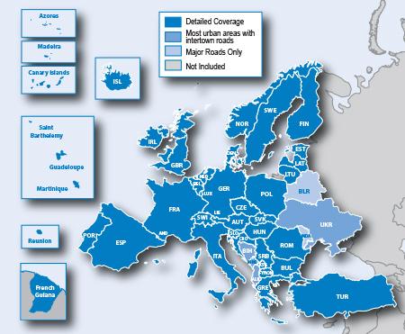 Garmin CityNavigator NT Europe 2014.30