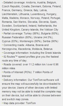 TomTom Europe v930