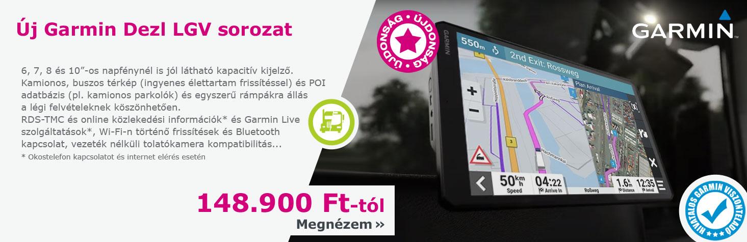Garmin Zümo motoros navigáció